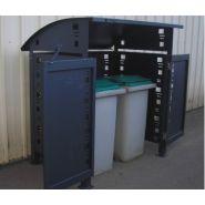 CC - Cache-conteneurs et abris poubelle - Pop industrie - 1 ou 2 bacs roulants