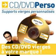 CD-R / DVD-R PERSO / SUPPORTS VIERGES PERSONNALISéS
