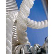 Polyester ou polyamide toronné polymérisé - Amarres - Lancelin - Composition : cordage polyester ou polyamide 3 torons