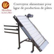 CONVOYEUR POUR PRODUCTION DE PÂTES