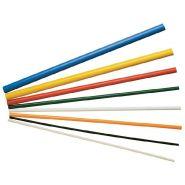 BARRE RONDE PVC 20MM NOIRE
