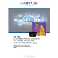 Co730  ftd - controle acces par prise temperature