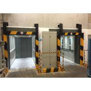Compact monte-charge pour bâtiments industriels - kleemann hellas mechanical constructions - charge de 300-1500 kg