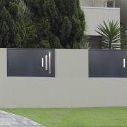 Tignes - clôture en aluminium - 123 pvc alu - thermolaqué