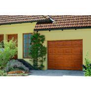 Porte de garage sectionnelle / en bois