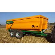 G 140 Benne agricole monocoque - Gourdon SA - Charge 14 T