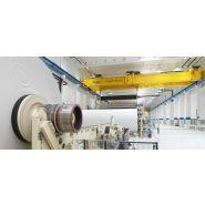 Pont roulant process - demag - pour l'industrie du papier