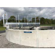 Racleurs de bassins de décantation - Europelec - Brosse de nettoyage fixe ou motorisée