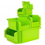 Collection de bacs a bec european - vert laser