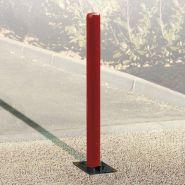 Potelet de carrefour rabattable - Virages - Hauteur : 680 mm, 1077 mm (hors sol)
