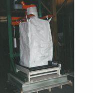 CFM-MK1 – CFM-MK3 - Stations de remplissage pour big bags - cfm-pesage - 20 à 30 Big Bag / heure