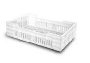 BAC ALIMENTAIRE EN PLASTIQUE / normes Europe / 600x400x150mm / 23 litres
