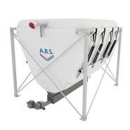 Flexilo ressort - Silos pour granulés de bois - Abs - Capacité de stockage très élevée