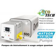 Pompes doseuse pÉristaltique de biotraitement usage unique quantum watson marlow