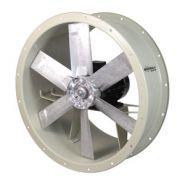 THT - Extracteurs de fumées hélicoïdaux tubulaires - Sodeca - Puissance moteur : 0,75 kW