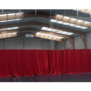 Rideau de séparation sur rail - ACL sport nature - 280 gr/m2