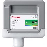 CARTOUCHE D'ENCRE CANON PFI-301G VERT IPF 8000(S)/9000(S)/8100/9100 1493B001 330ML