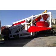 Turbomix 30 centrale à béton - fabo - mobile - 30 m3/h