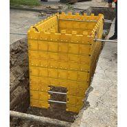 Kit de blindage de fouilles  kit 4 2mx1mx0,65m