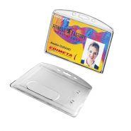 Badges porte-cartes rigide personnalisables 86 x 54 mm