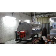 Chaudière vapeur babcock wanson bws b30 - 3000 kg/h - 15 bar -gaz ou fioul