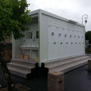 Modulaire 14 wc avec lave-mains extérieur - en location - sebach