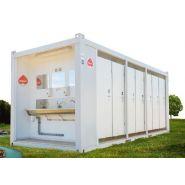 Modulaires 14 wc - en location - sebach