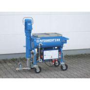 Putzknecht s58 - machine à projeter uelzener - malaxage et pompage de matériaux secs