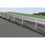 Euro GS N2 W2 - Glissière de sécurité - Roadis - longueur : 11 m dont 5 m sur GBA-DBA