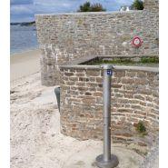 Douche fouesnantaise :plage-camping-pisicne en inox 316 l