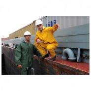 ENSEMBLE DE PLUIE PVC AUTAN JAUNE TXXL OPSIAL