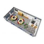 Salles de classe maternelle modulaires