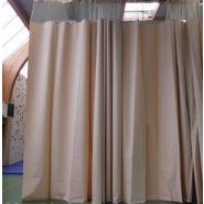 710010-1 - Rideau de séparation gymnase en PVC M1 - Decasport - 530 grs/m2