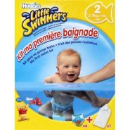 HUGGIES LITTLE SWIMMERS CULOTTES EXTRA SMALL TAILLE 3-7KG  X6 + SERVIETTE