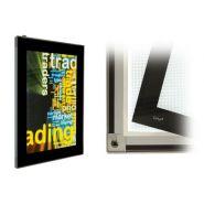 520 lumo1000700 - porte affiche lumineux à led extra plat - kalengo - 70x100 mm