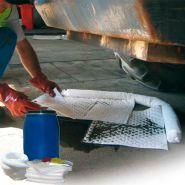 Kits antipollution - fûts d'intervention 134 litres hydrocarbures