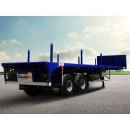 108_14_D42 - Remorque plateau pour poids lourd - Comet - Avec une largeur de plateforme de 3 mètres