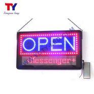 """LED ouvert - Panneaux lumineux à LED - Tianyuan lamp - Dimensions de l'appareil 22""""X13""""(55.8cmx32.8cm)"""
