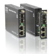 FRM220-10/100IS-2 - CONVERTISSEUR DOUBLE PORT 10/100BASE-TX VERS 100BASE-FX