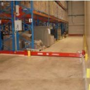 T abvd - barrière de rétention d'eaux d'incendie - cgk - barrière semi automatique