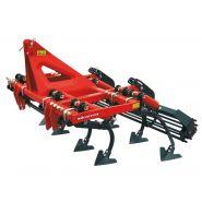 Cultivateur agricole - torpedo - largeur 1.8 à 2.6 m