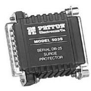 PATTON 503S - PARASURTENSEUR MINIATURE RS232, 25 CIRCUITS (DB25)