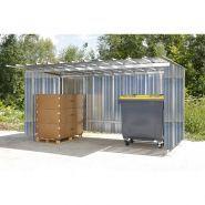 Abri multi-usage - Cache-conteneurs et abris poubelle - Normequip - en métal