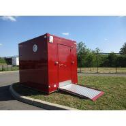 """Bungalow sanitaire """"morgon"""" / accessible pmr / 200 x 250 cm"""