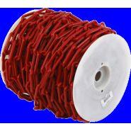 Chaîne Ø 6mm x 50m Rouge en bobine - SIGNAL - 1160521