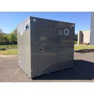 Toilette mobile raccordable Morgon / accessible PMR / 200 x 250 cm