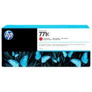 CARTOUCHE D'ENCRE HP 771C DESIGNJET Z6200 ROUGE CHROMATIQUE B6Y08A 775ML