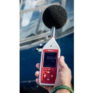 Cir/cr:1720 - sonomètre intégrateur - scantec - valeurs ln / audio