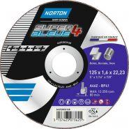 MEULE DEPORT.27 125X 7,0X 22,23 SB3/SB4 METAL INOX (STK) UE25