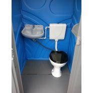 Toilette mobile raccordable Mondo / 111.8 x 121.9 x 231 cm